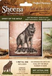 Sheena Douglas - Perfect Partners - Call of the Wild Metal Die - Spirit of the Wolf